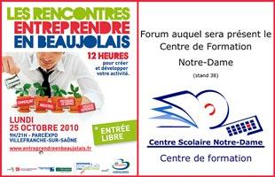 Forum Entreprendre en Beaujolais