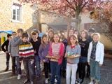 Les élèves qui ont participé.