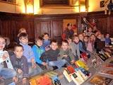 Dans l'ancienne église du Bois d'Oingt. Photo Marie-Chantal Daspres