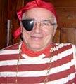 Jean-Jacques Moleux, bénévole avait revêtu le costume de rigueur ! Photo Marie-Chantal Daspres