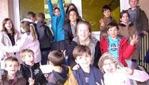 Les écoliers ont de beaux souvenirs de leur semaine au Pouliguen. Photo Marie-Chantal Daspres