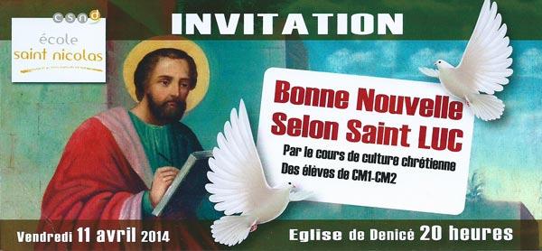Bonne nouvelle selon Saint-Luc