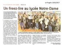 Le Progrès - 14/02/2017
