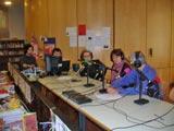 Béatrice Berthoux et Radio Calade en visite au CSND