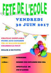 Affiche Kermesse de l'école Notre-Dame à Belleville s/S