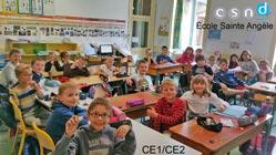 La classe CE1 / CE2