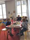 Jeux d'échecs avec Papi Daniel