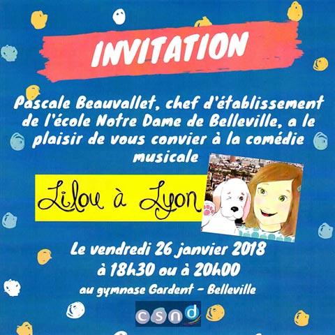 Lilou à Lyon