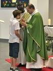 Première communion au collège