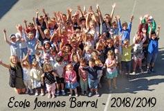 Rentrée à l'école Joannès Barral de Saint Vérand