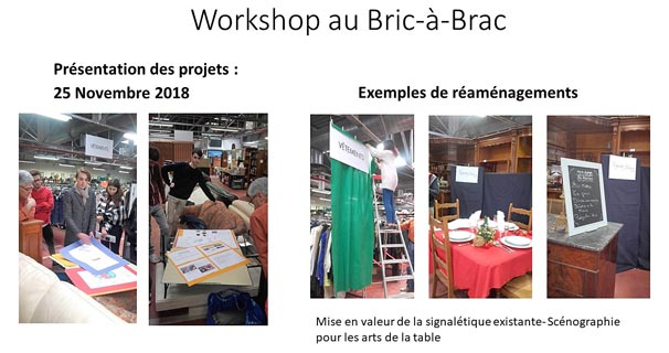 Workshop au Bric-à-Brac