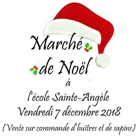 Le marché de Noël de l'école Sainte-Angèle