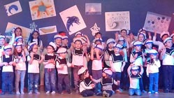 Les élèves de Saint-Martin ont chanté Noël