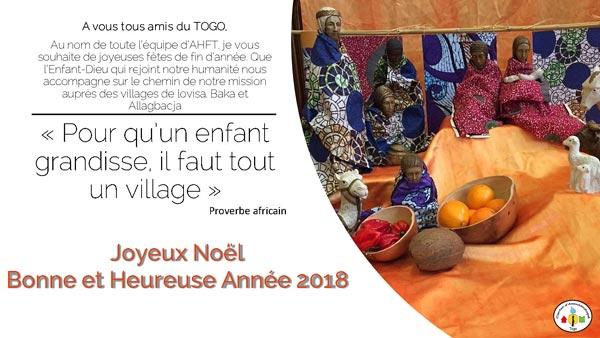 Vœux 2018 | Actions humanitaires France-Togo