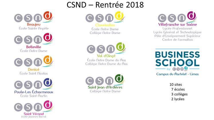 CSND | Rentrée 2018
