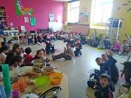 Mobilisation solidaire à l'école Joannès Barral