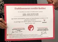 Signature du contrat Kolibri