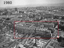 Bâtiments en 1980
