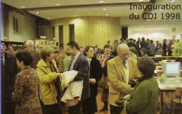 Inauguration du CDI en 1998