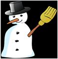 Logo Bonhomme de neige
