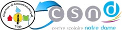Logo partenariat CSND / Canton d'Amoussoukopé