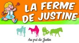 Logo La ferme de Justine - Au pré de Justin