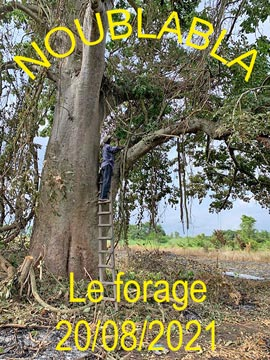 NOUBLABLA - Le forage